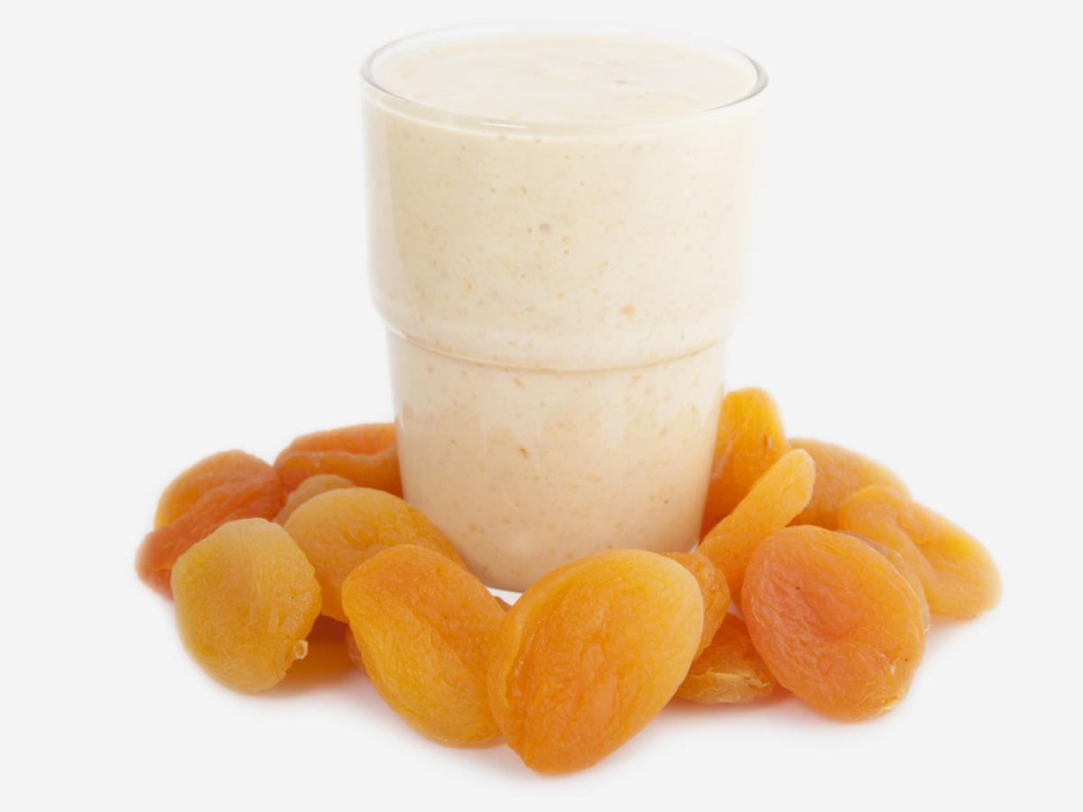 1,000 Calorie Apricot Protein Shake Healthy Recipe