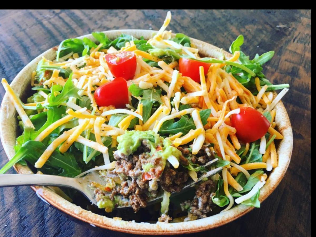 5-Layer Keto Mexican Bowls Healthy Recipe