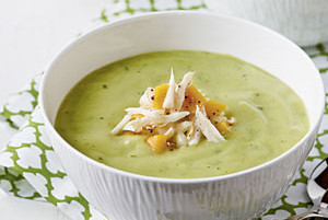Avocado Cream Soup Healthy Recipe