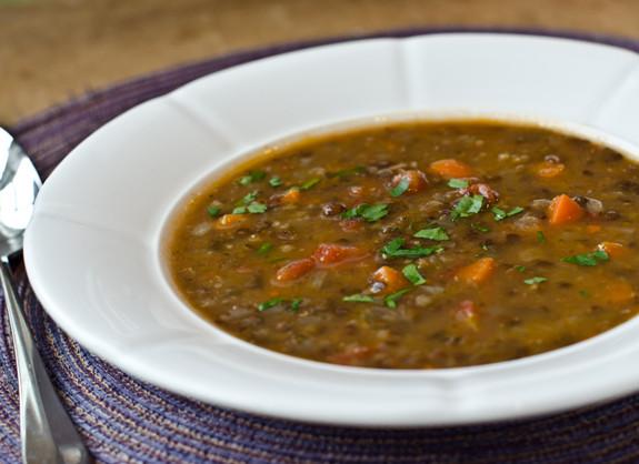 Lentil Soup Healthy Recipe