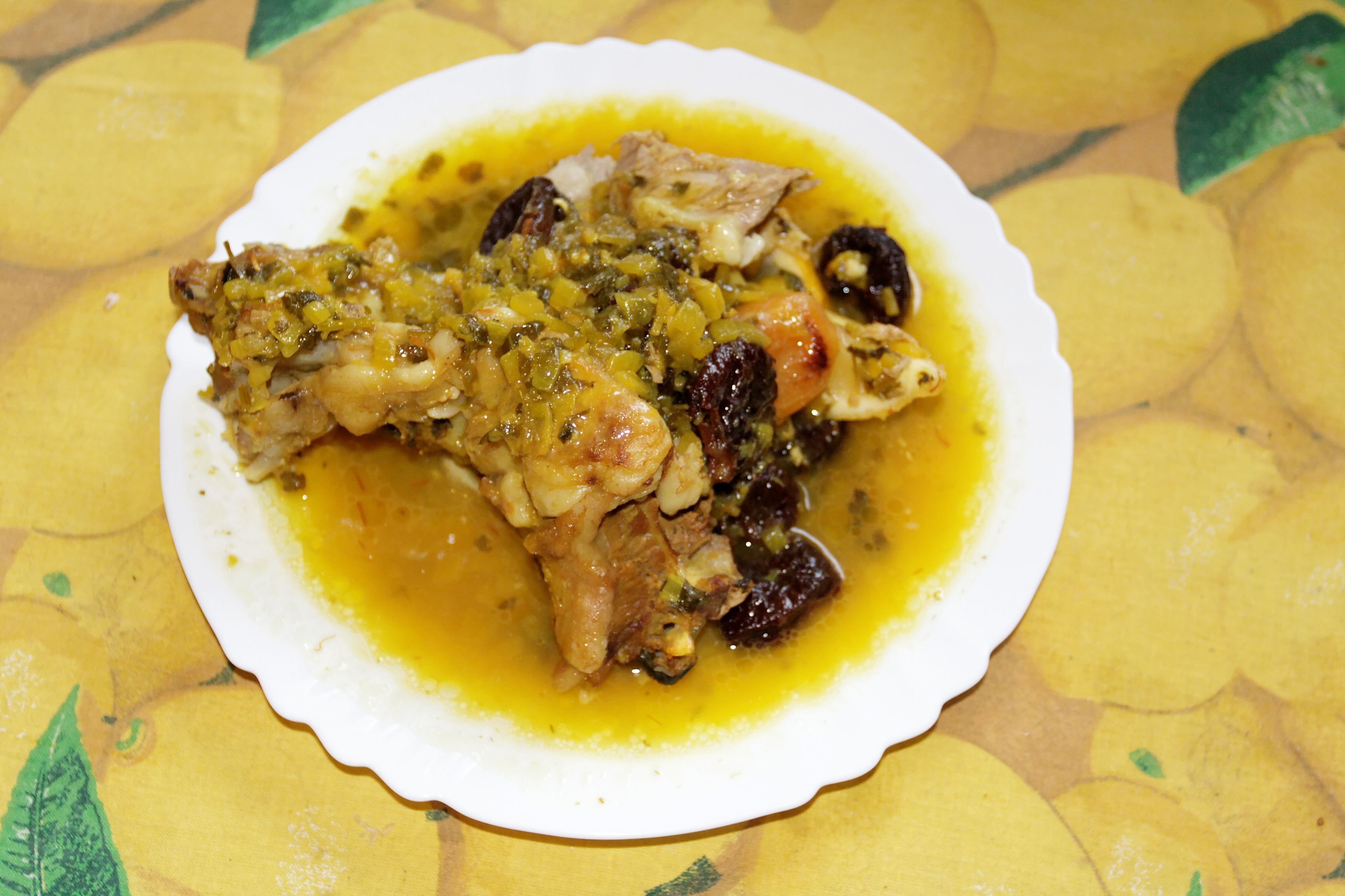 Moroccan Lamb Stew Apricots Healthy Recipe