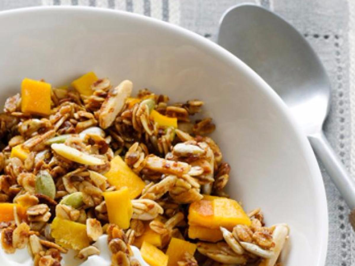 Agave Granola Healthy Recipe