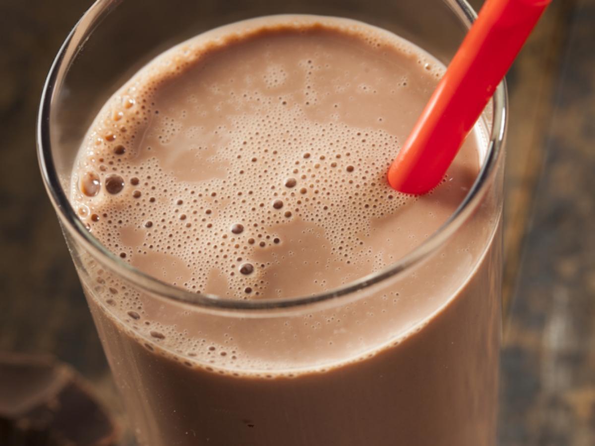 Almond Milk Cocoa Protein Shake Healthy Recipe