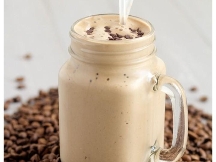 Almond Milk Coffee Protein Shake Healthy Recipe