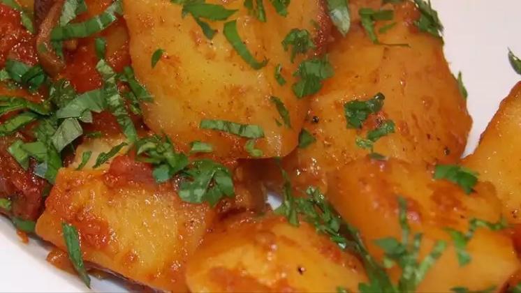 Aloo Phujia Healthy Recipe