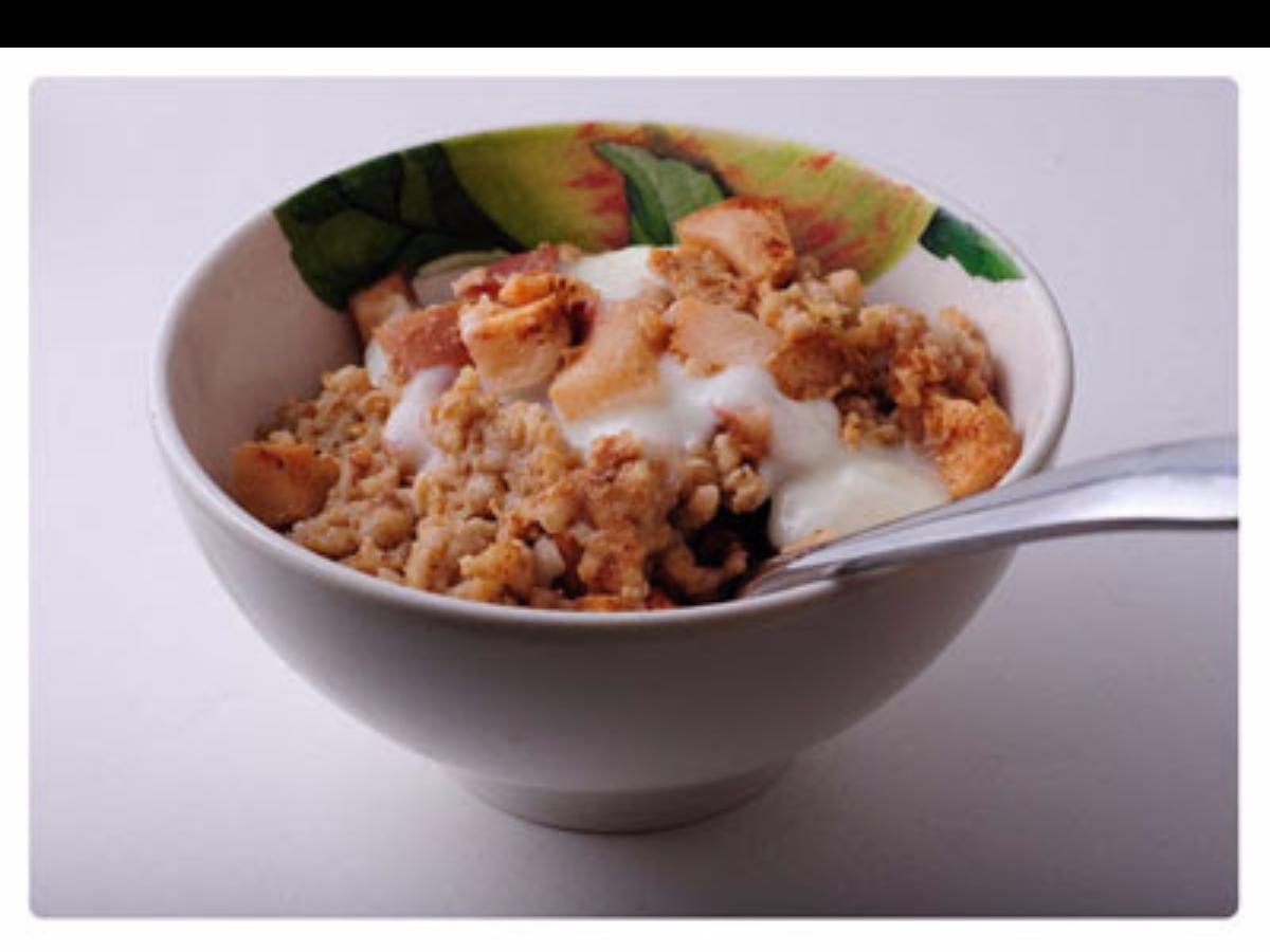 Apple Cinnamon Baked Oatmeal Healthy Recipe