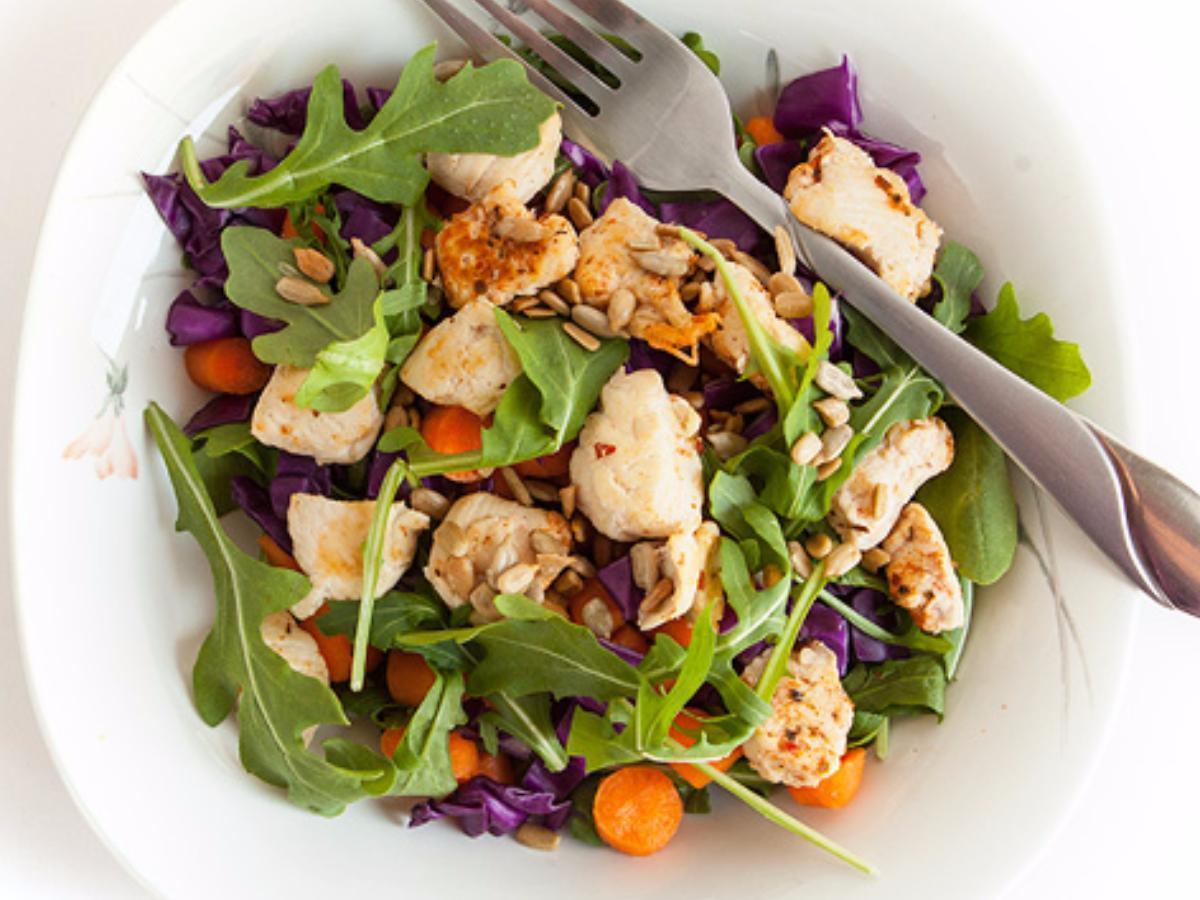 Arugula Chicken Salad Healthy Recipe