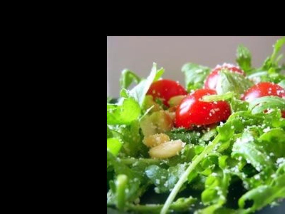 Arugula Salad Healthy Recipe