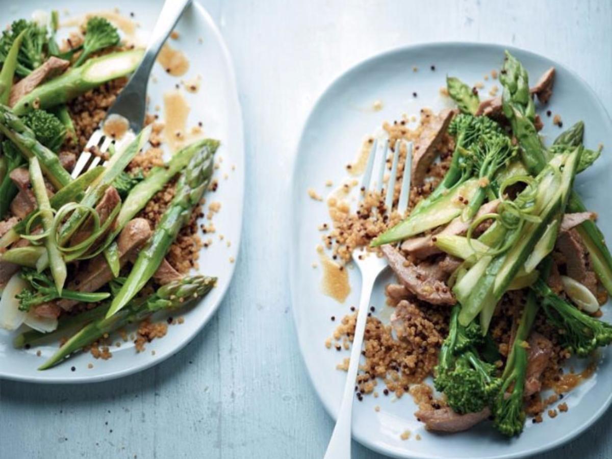 Asian Duck Salad  Healthy Recipe