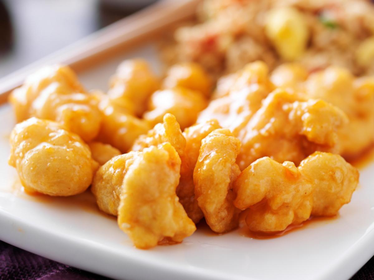 Asian Honey Chicken Healthy Recipe