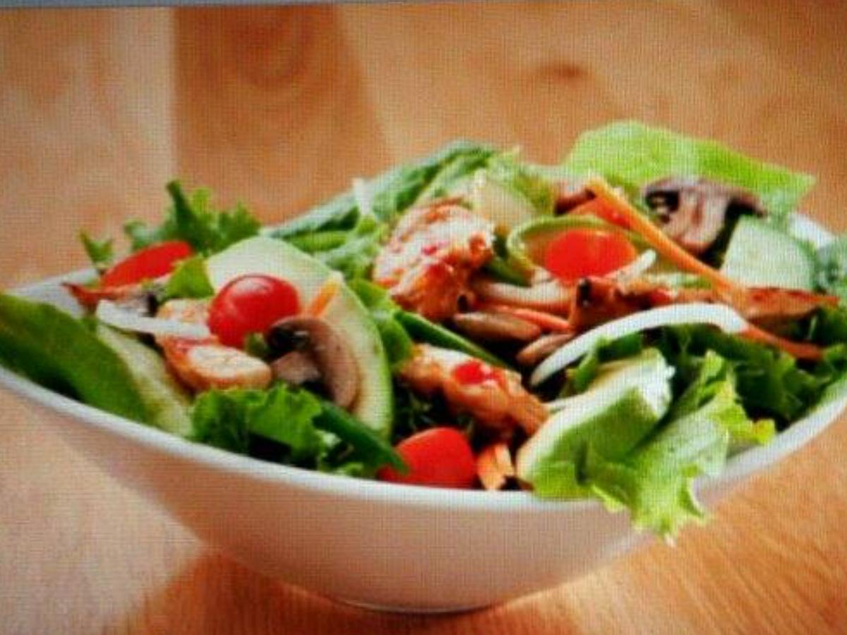 Asian Style Salad Healthy Recipe