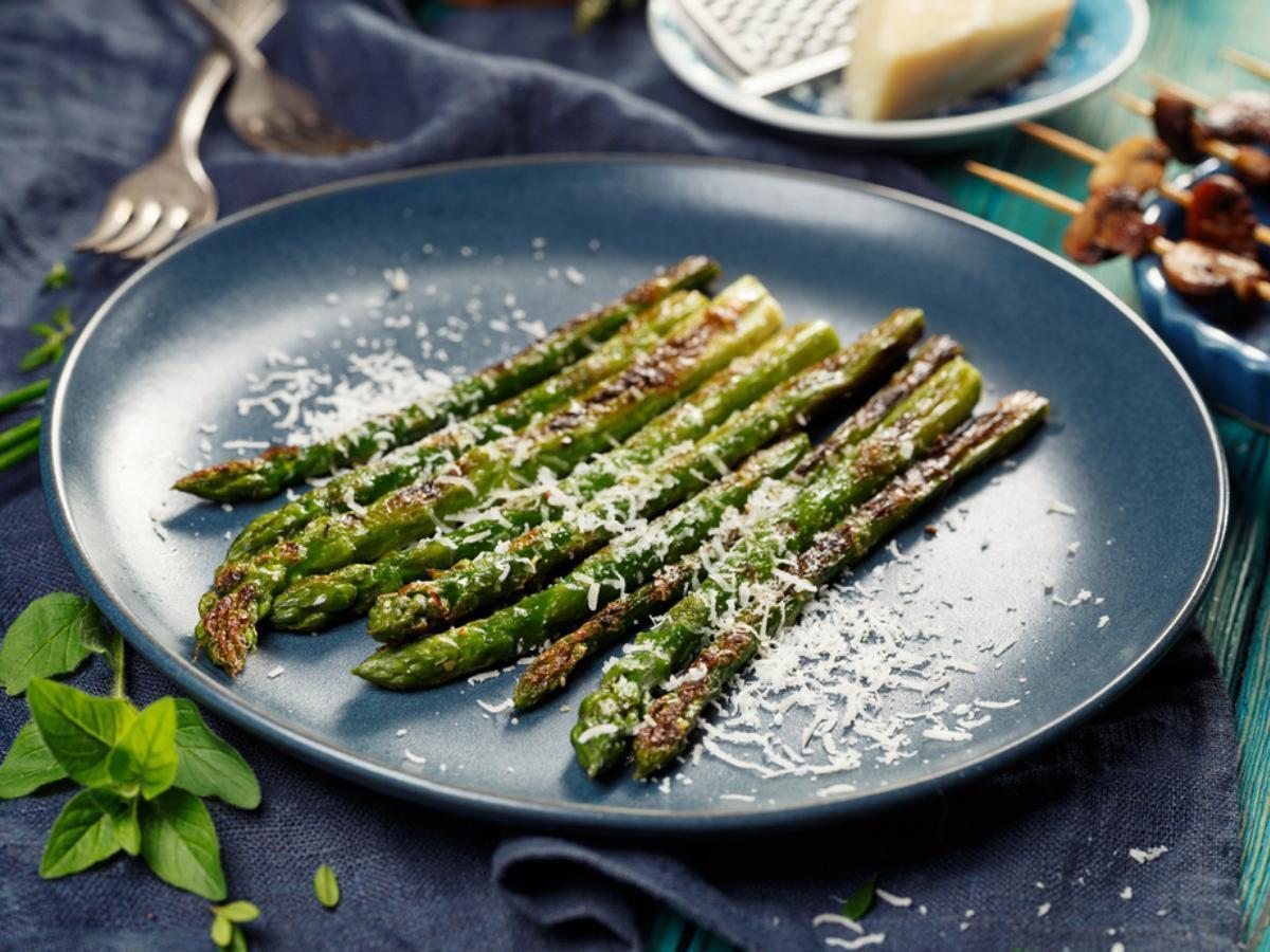 Asparagus Parmesan Healthy Recipe