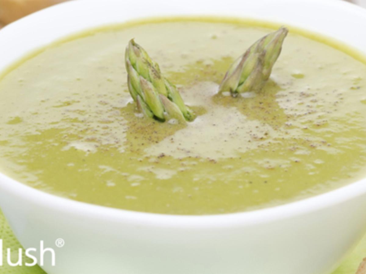 Asparagus Purée Soup Healthy Recipe