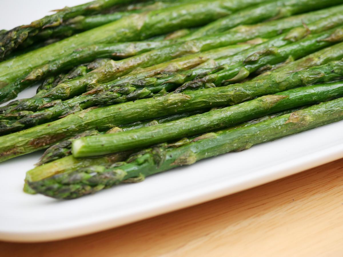 Asparagus with Horseradish Butter Healthy Recipe