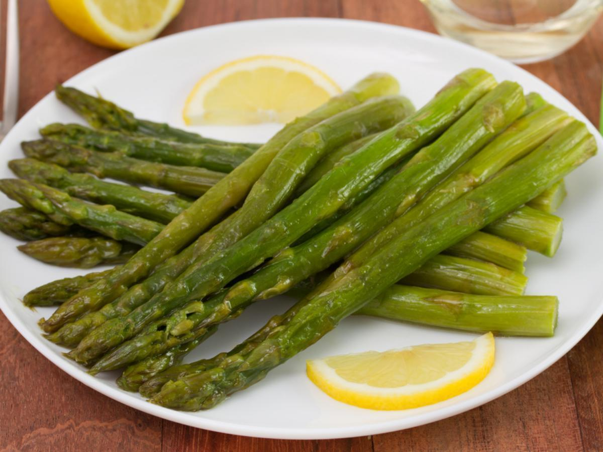 Asparagus with Lemon and Butter Healthy Recipe