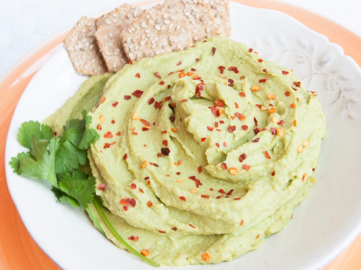 Avocado Hummus Healthy Recipe