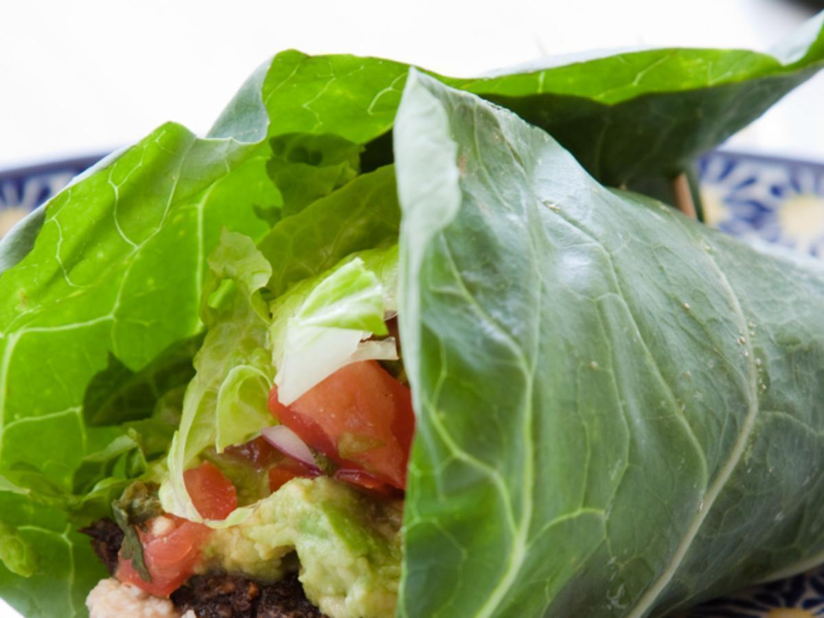 Avocado lettuce wrap Healthy Recipe