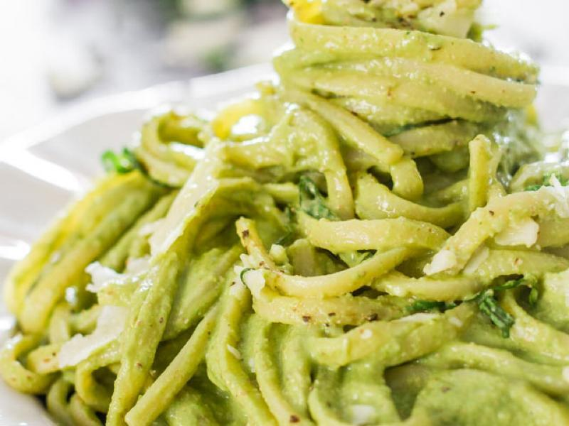 Avocado Pasta Healthy Recipe