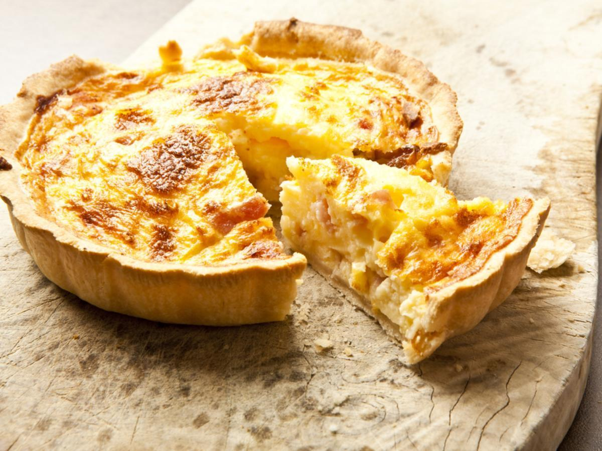 Bacon and cheese quiche Healthy Recipe