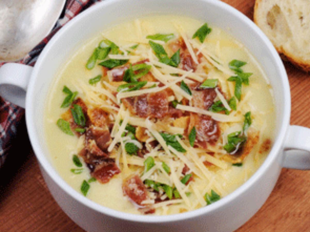Bacon Potato Soup Healthy Recipe
