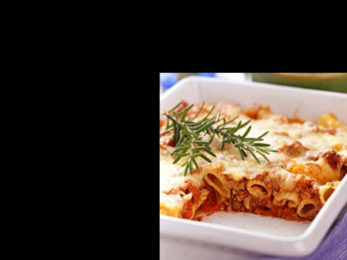 Baked Beef Ziti Healthy Recipe