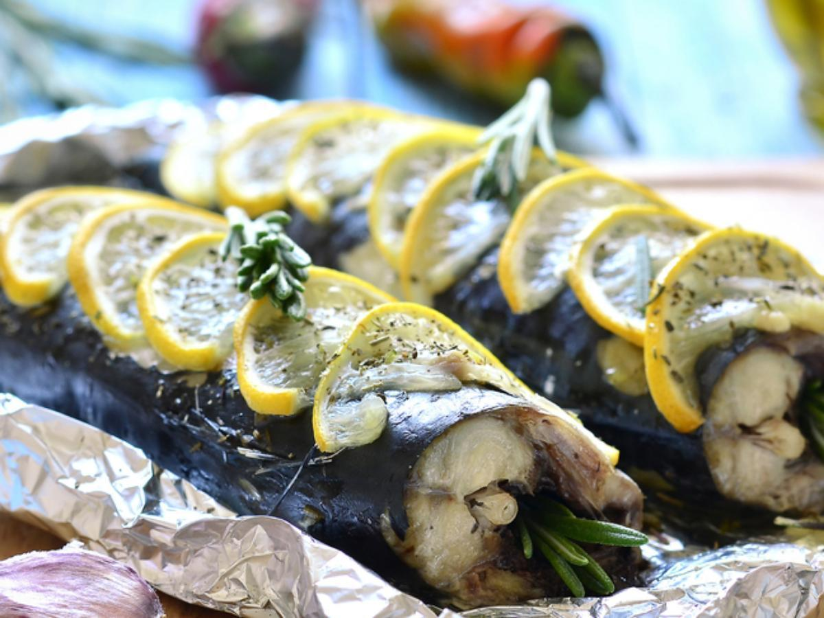 Baked Bluefish Healthy Recipe