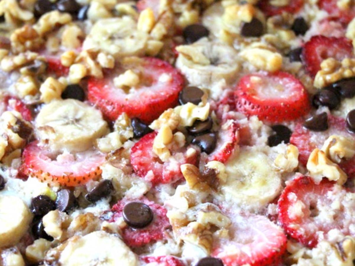 Baked Oatmeal Healthy Recipe