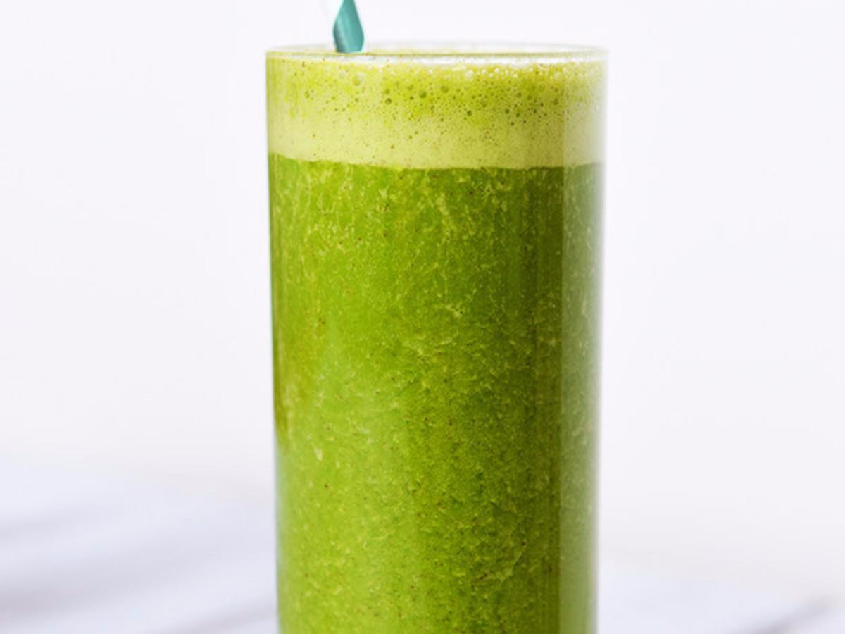 Banana Coconut Green Smoothie Healthy Recipe