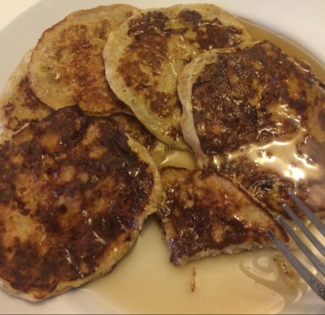 Banana Flax Pancakes Healthy Recipe