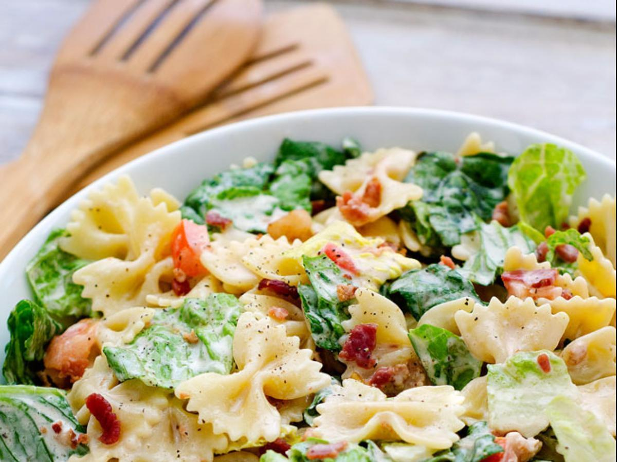 Barbecue Ranch Pasta Salad Healthy Recipe