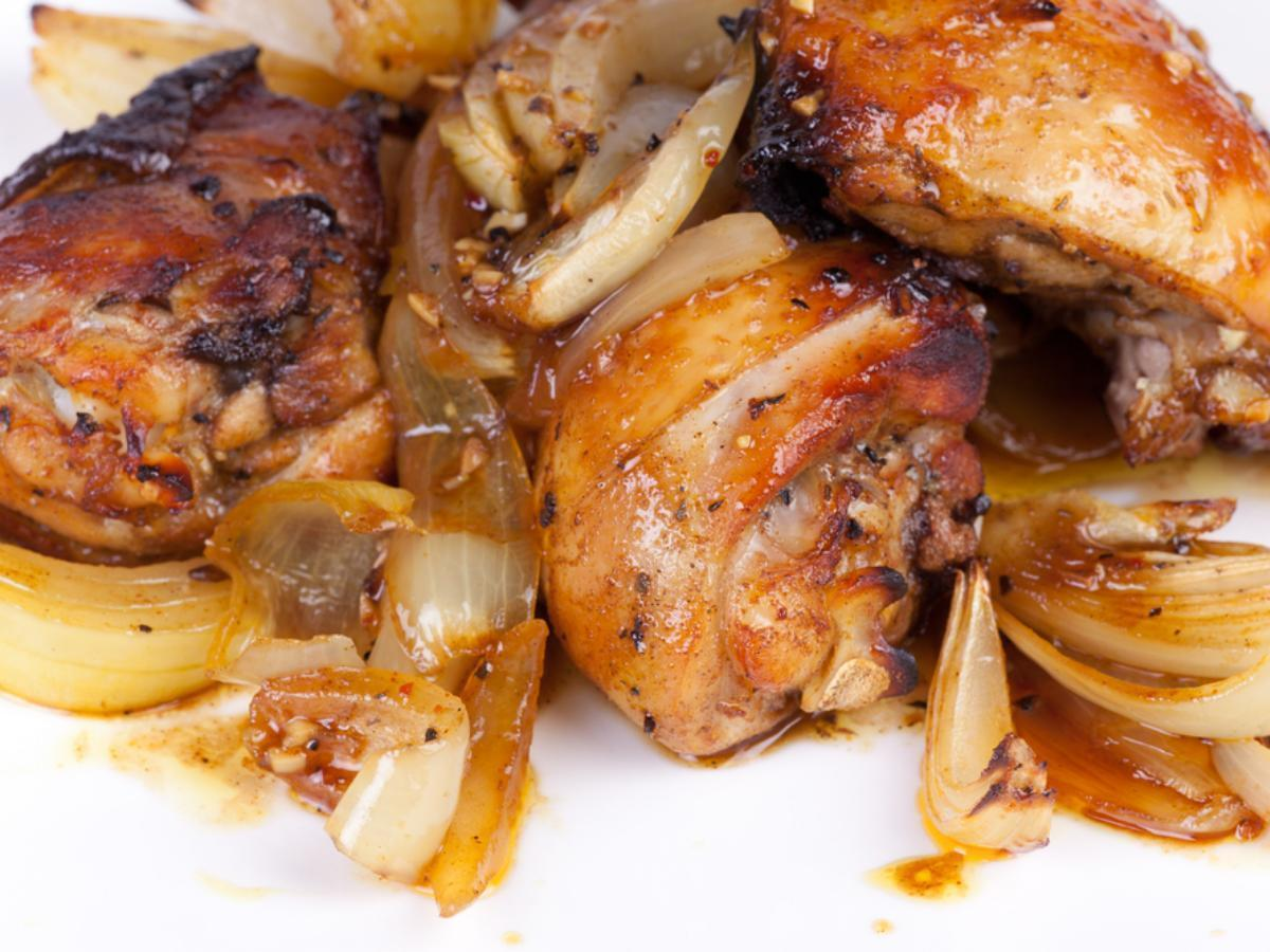 Barbecued Chicken Healthy Recipe