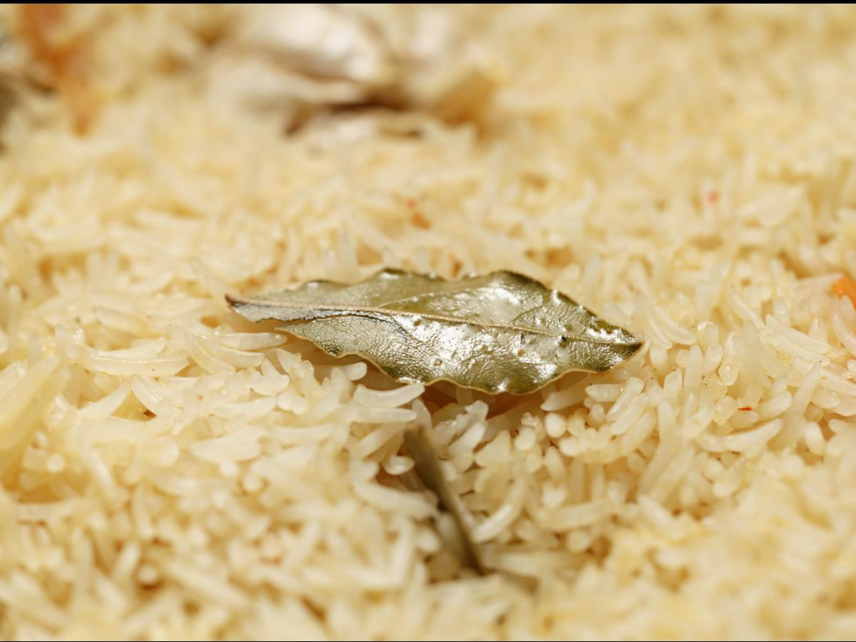 Bay Leaf Rice Pilaf Healthy Recipe