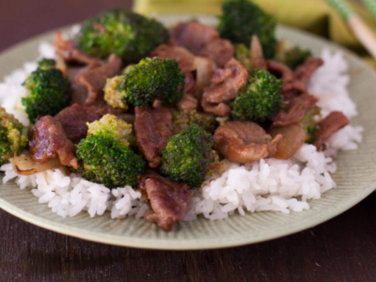 Beef and Broccoli Stir Fry Healthy Recipe