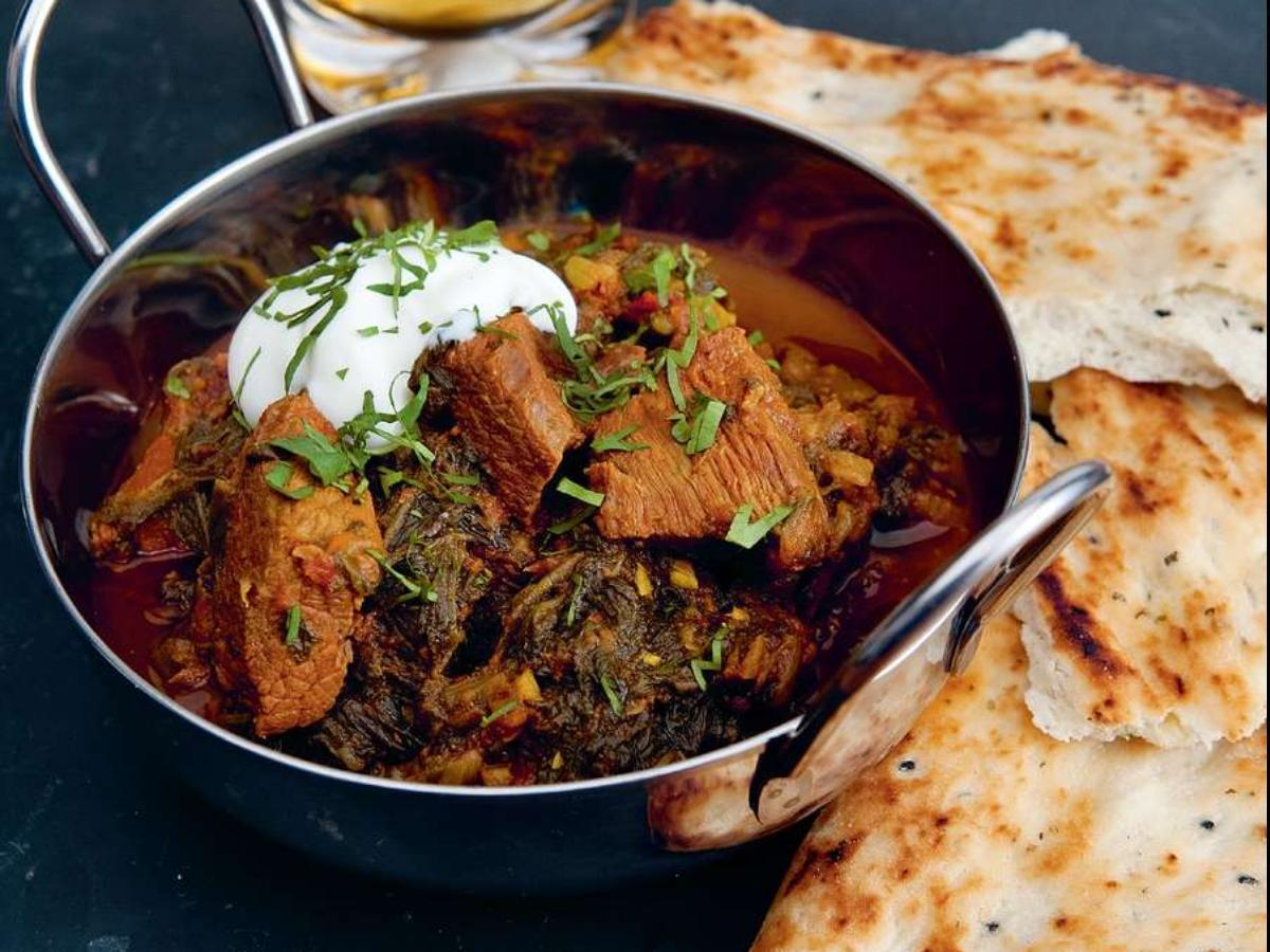 Beef and Spinach Curry Healthy Recipe