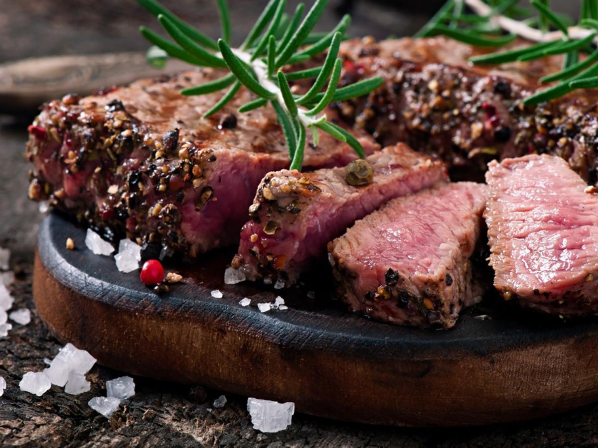Beef Tenderloin in Herbed Salt Crust Healthy Recipe