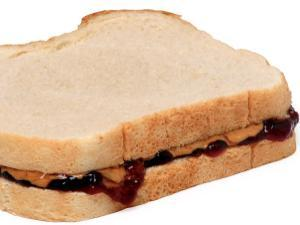 Big PB&J Sandwich Healthy Recipe