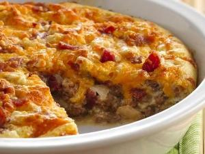 Bisquick Bacon Gorgonzola Cheeseburger Pie Healthy Recipe