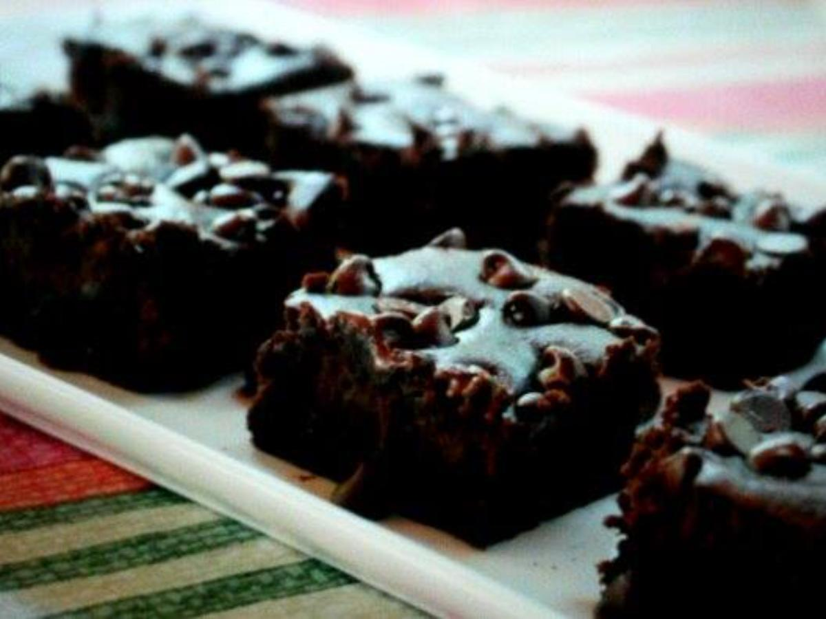Black Bean Brownie Healthy Recipe