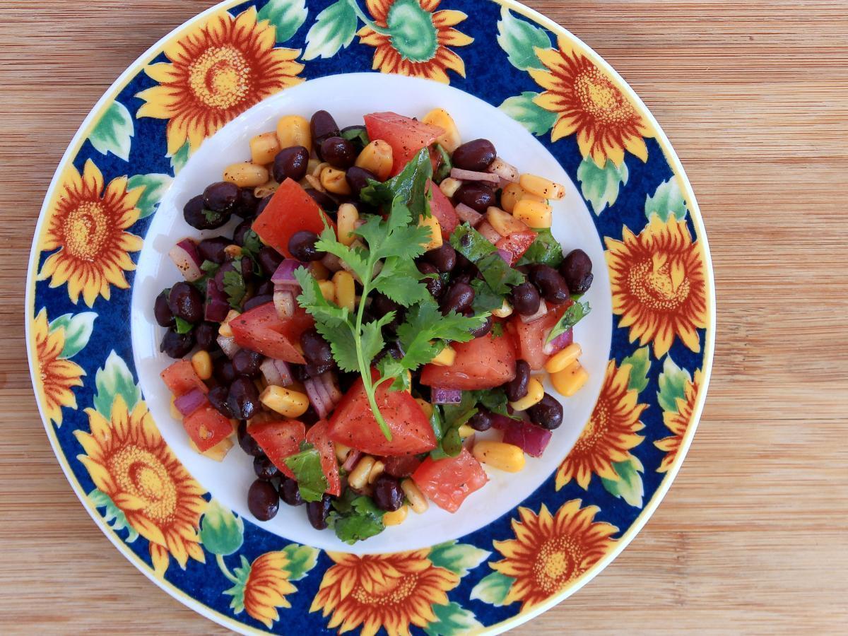 Black Bean Salad Healthy Recipe