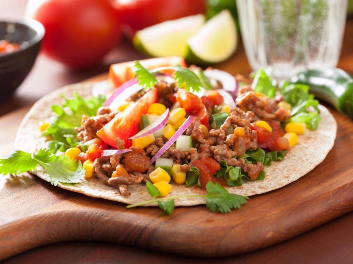Black Bean Tacos with Corn Salsa Healthy Recipe
