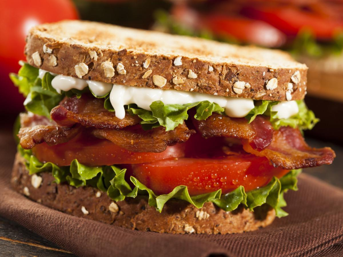 BLT sandwich Healthy Recipe