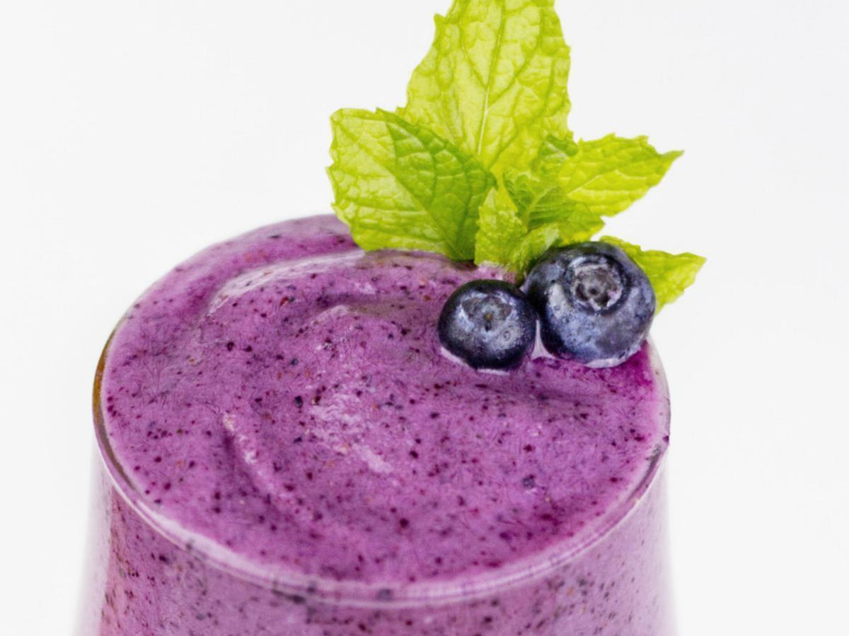 Blueberry Banana Smoothie Healthy Recipe