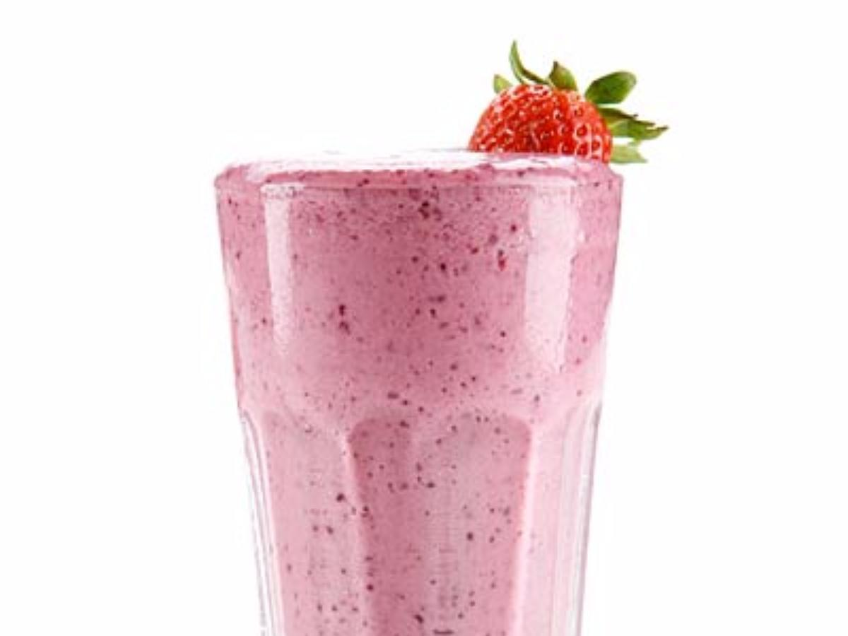 Blueberry Chard Protein Smoothie Healthy Recipe