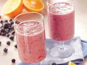 Blueberry Orange Smoothie Healthy Recipe