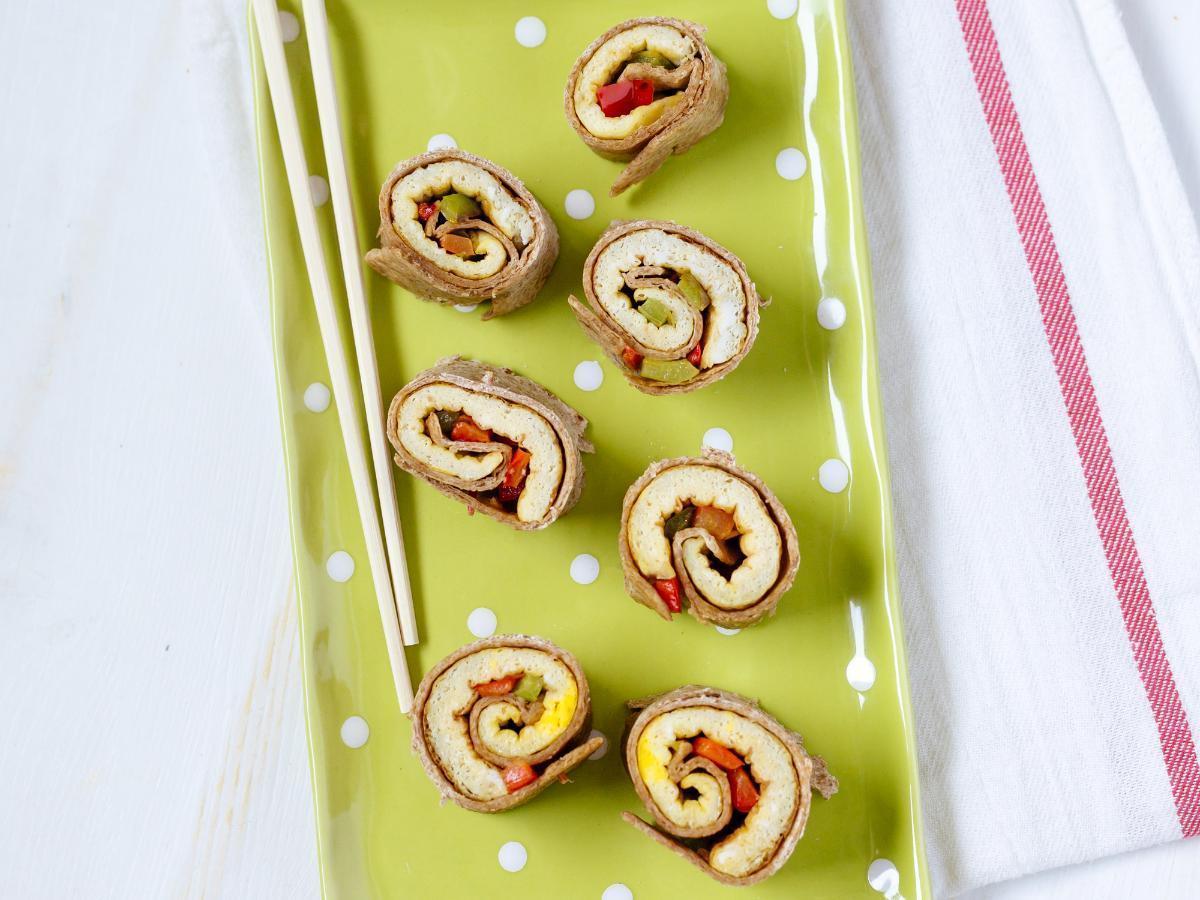 "Breakfast ""Sushi"" Healthy Recipe"