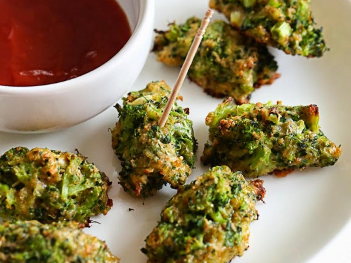 Broccoli and Cheese Tots Healthy Recipe