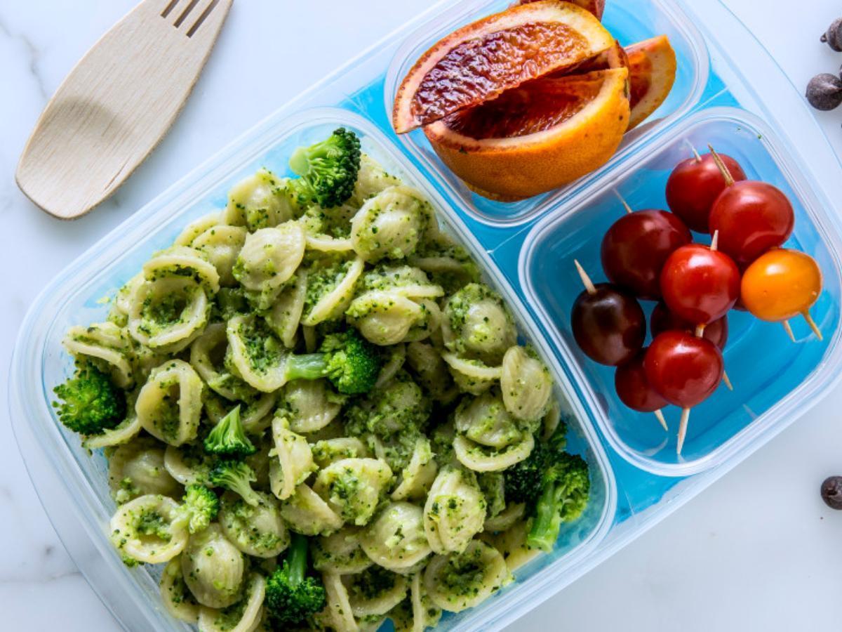 Broccoli Pesto Pasta Healthy Recipe