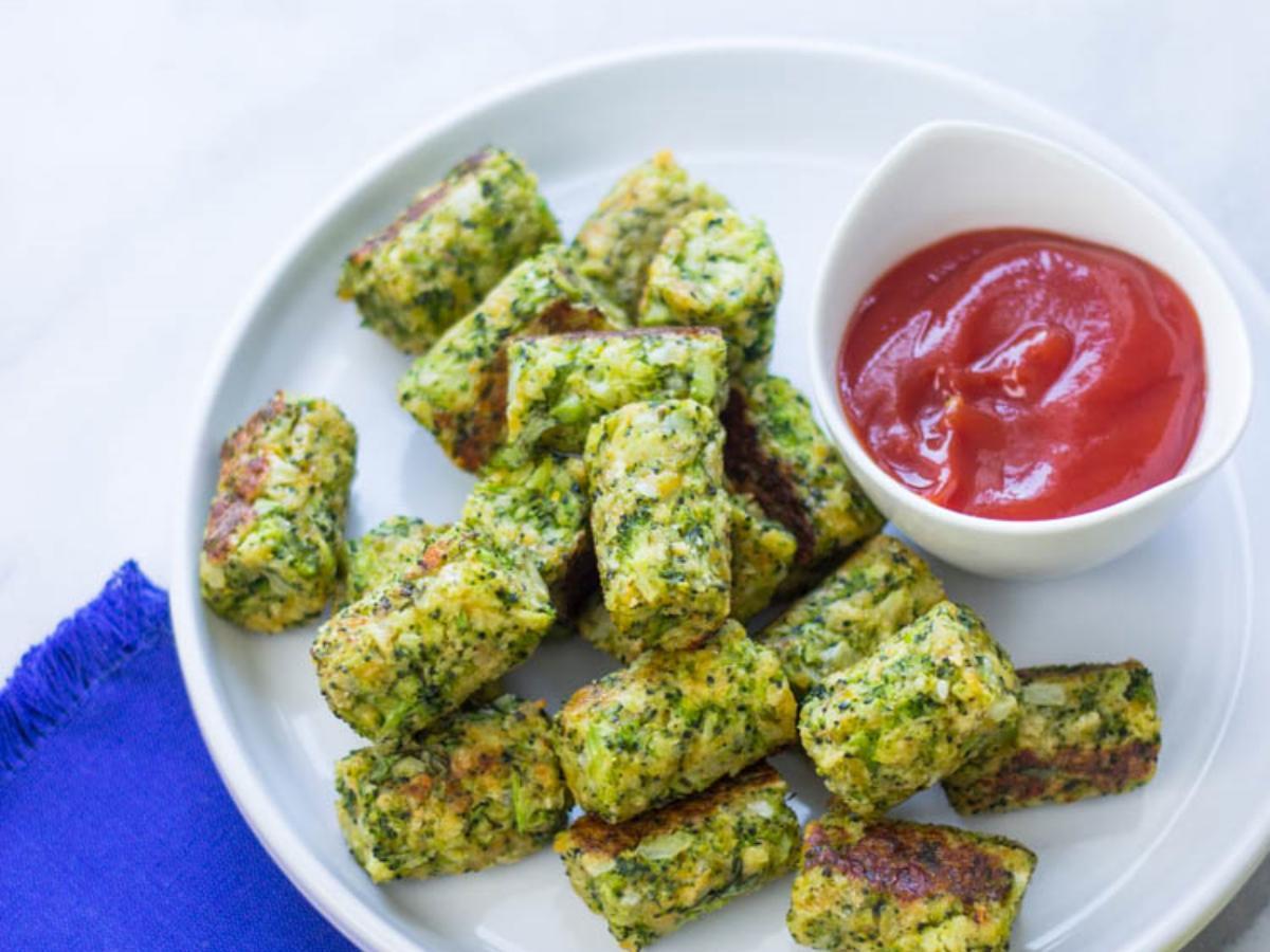 Broccoli Tots Healthy Recipe
