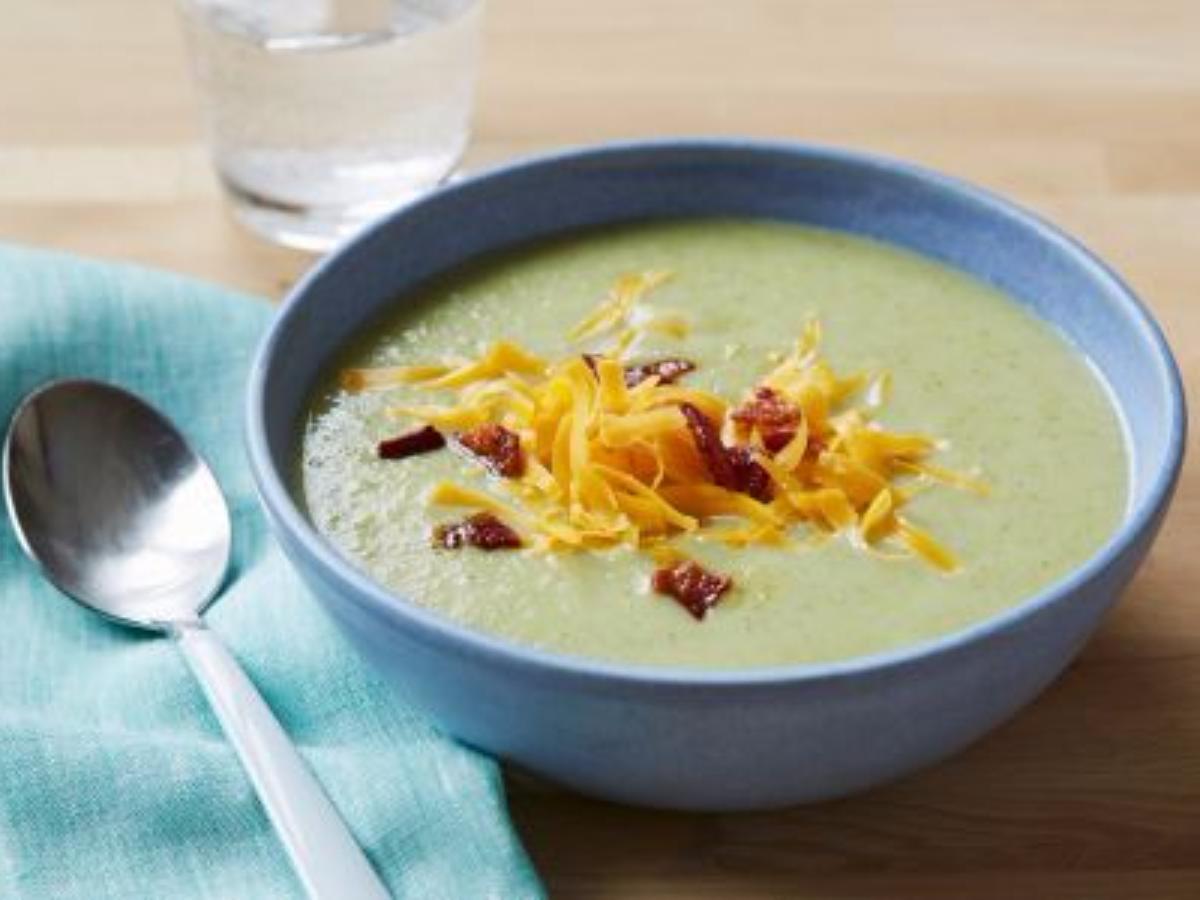 Broccolli Soup Healthy Recipe