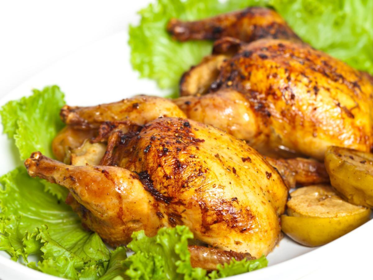 Broiled Cornish Hens Healthy Recipe